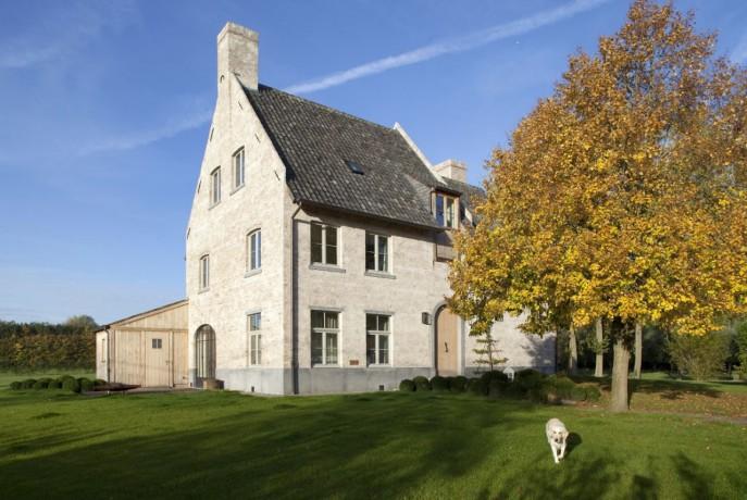 Bouwbedrijven en architecten landelijk klassiek for Architect landelijk